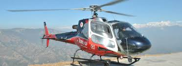 Helicopter Mountain flight Langtang