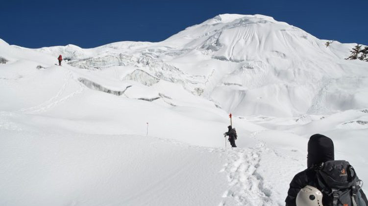 Mt Himlung West Ridge